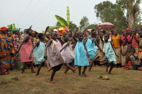 Burundi, Batwa, children