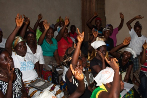 Empowering Women in Liberia!  337 women participated in our Vocational Training Programme in 2012.